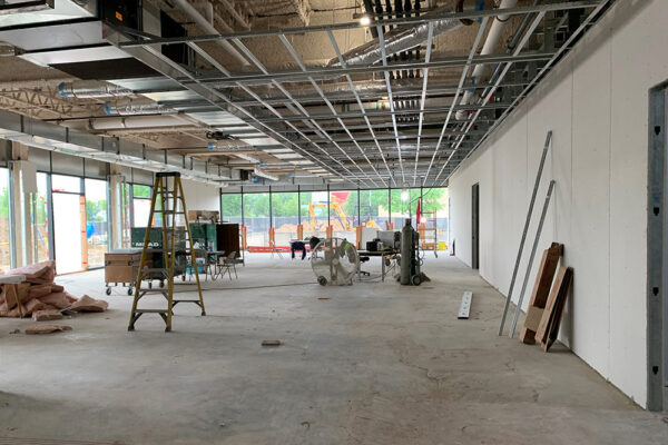 """We are so happy to be creating this amazing community space.  No more """"dark basement"""" meetings at Flint Public Library!"""